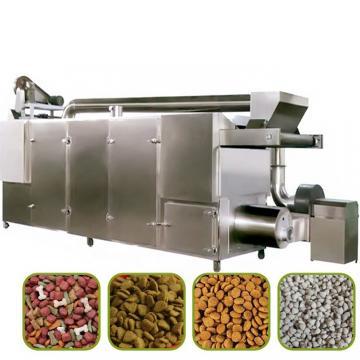 Soybean Corn Rice Bran Animal Pet Food Fish Feed Extruder Machine