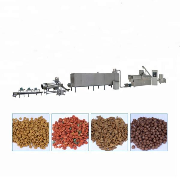 Small Dog Food Making Extruder Dog Food Machine From India