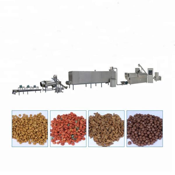 Soybean Corn Animal Pet Feed Food Extruder Pellet Making Machine