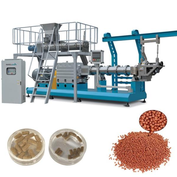 Dry Animal Feed Pellet Making Machine Pet Feed Dog Cat Food Production Line Small