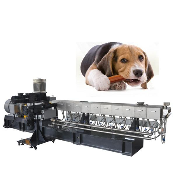 Industrial Automatic Dry Pet Dog Fish Cat Food Making Machine