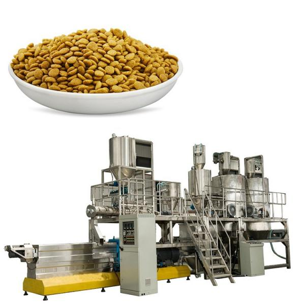 Dog Pet Food Manufacturing Machinery Fish Feed Processing Plant