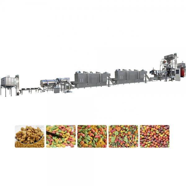 Hot Sale Automatic Pet Feed Making Machine Dog Food Processing Line Cat Animal Bird Food Equipment