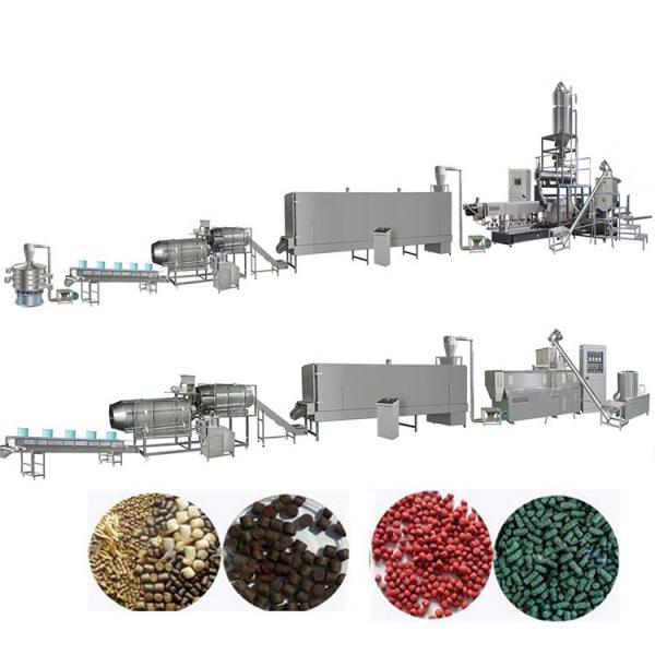 Extruded Dry Pet Dog Food Extruder Making Machine Cat Animal Fish Feed Processing Line Plant