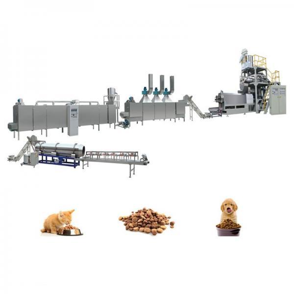 2017 New Twin Screw Pet Dog Food Extrusion Machine