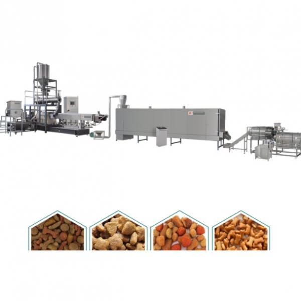 2020 Hot Sales 100kg-6t/H Automatic Dog Cat Fish Shrimp Bird Pet Snack Food Extruder Plant Production Line Equipment Machine Fish Feed Machine